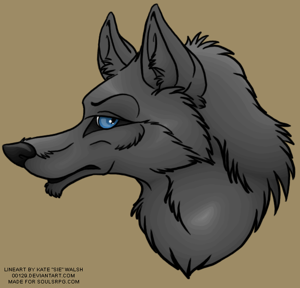 Wolf Avatar PSD Preview Image