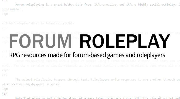 Fight Roleplay | Combat in Online RPGs | Forum Roleplay